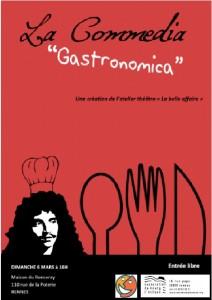 comedia affiche + logo