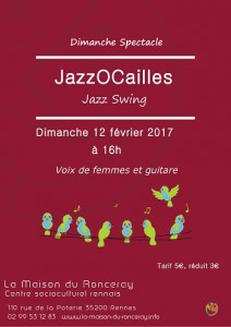 Affiche jazzocailles 2017